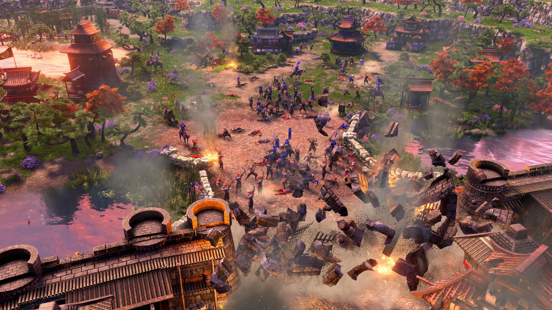 《帝国时代3决定版》游戏截图