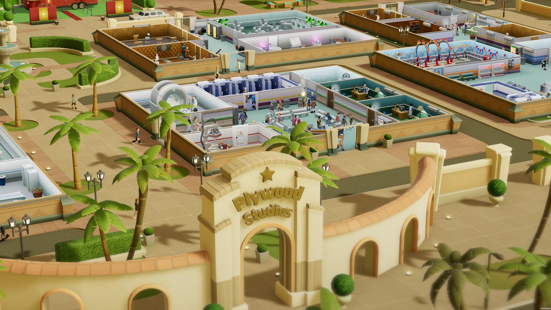 《双点医院:文化冲击》游戏截图