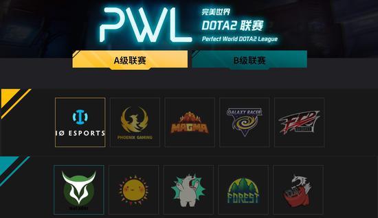 PWL主赛事赛程公布谁能代表亚洲DOTA2的年轻力量