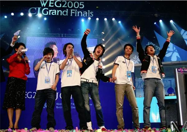 中美电竞赛场对抗二十年