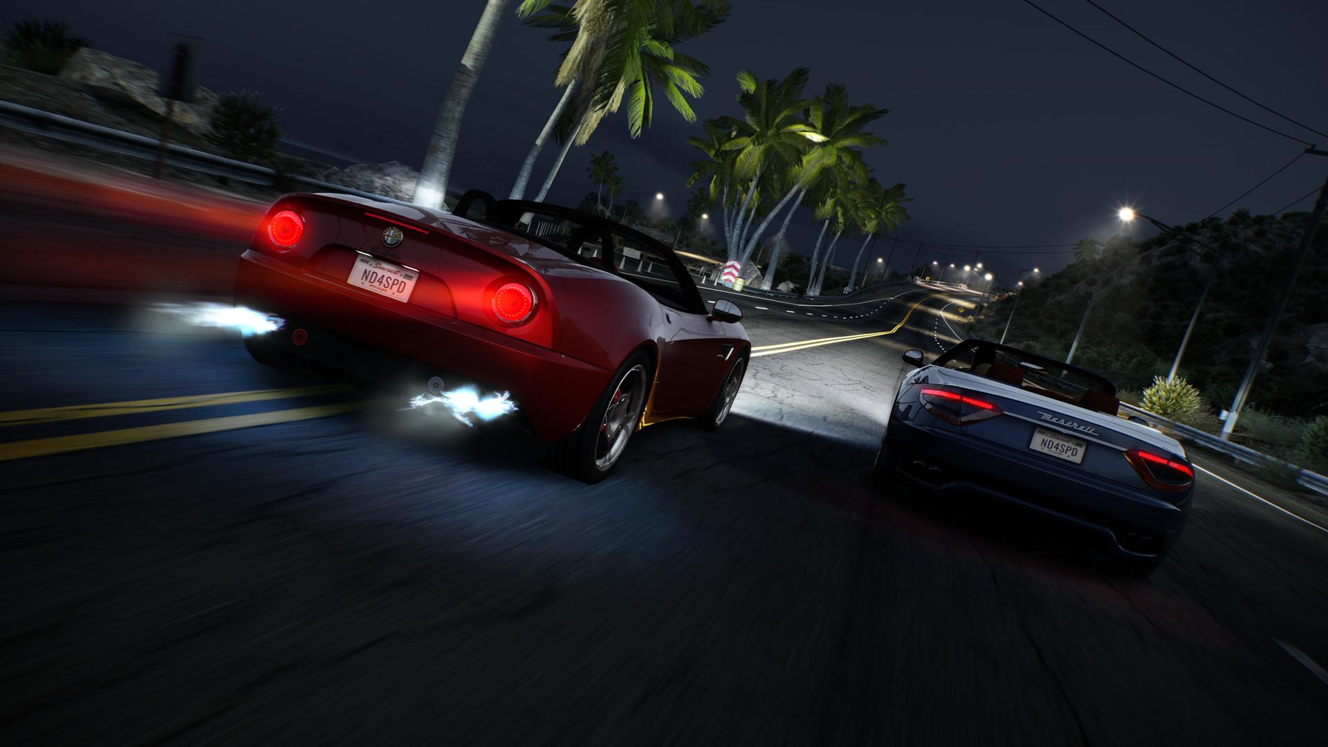 《极品飞车:热力追踪重制版》游戏截图