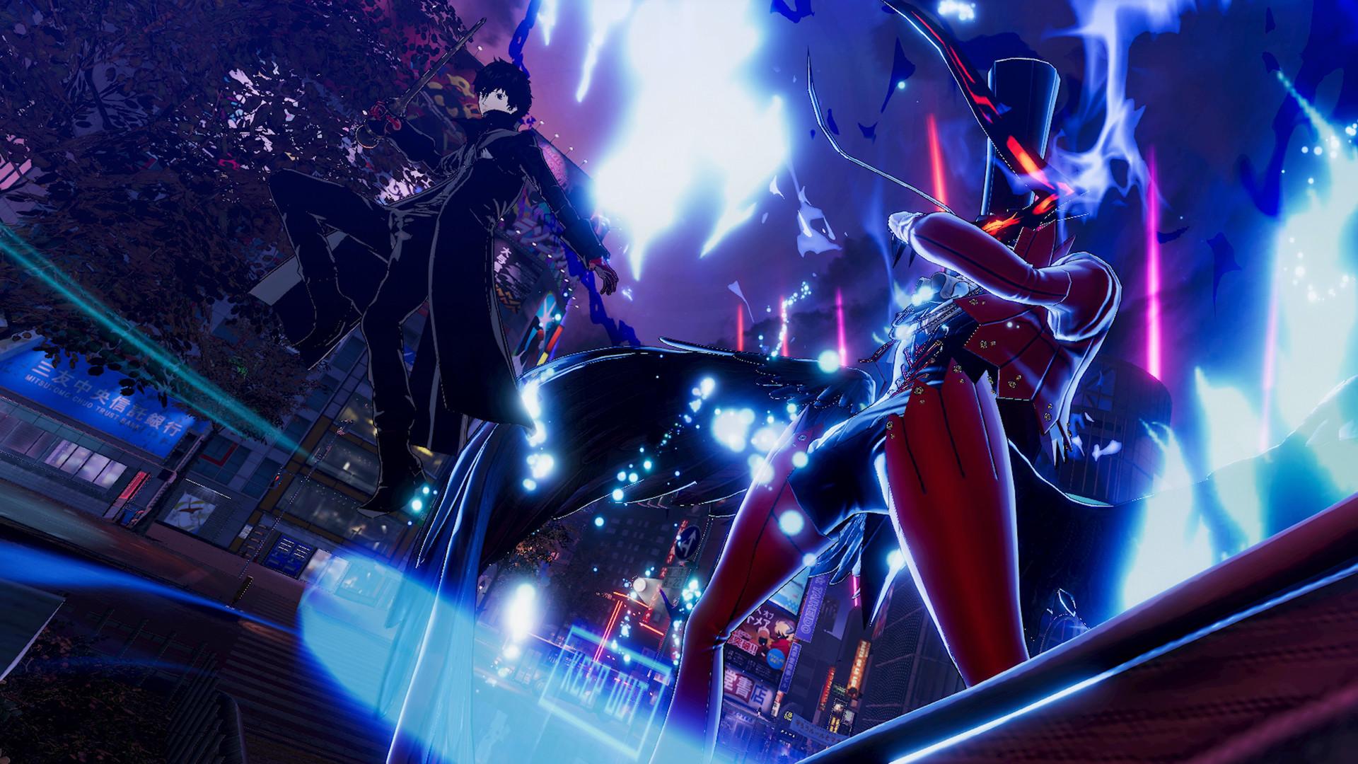 《女神异闻录5乱战:魅影攻手》游戏截图