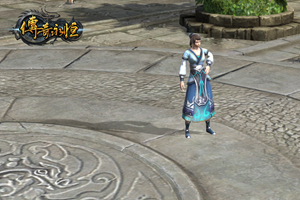 盛大虚幻3自研MMORPG传奇永恒NPC截图
