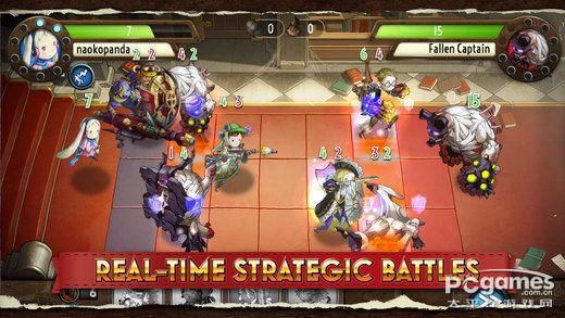 SE幻想风战略RPG 《天堂决斗者》月底发布