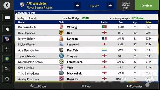 《足球经理移动版2016》 新赛季现已开球