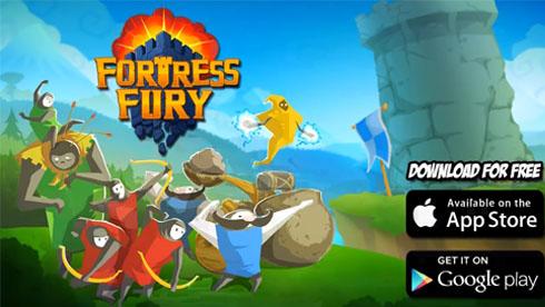 打爆敌方城堡《堡垒之怒》FortressFury