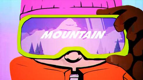 像素也疯狂《雪人山滑雪》