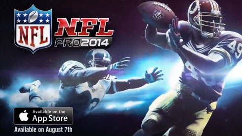 Gameloft精品必玩游戏《热血橄榄球2014》