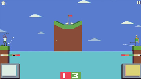 不光打球还打人《战斗高尔夫》