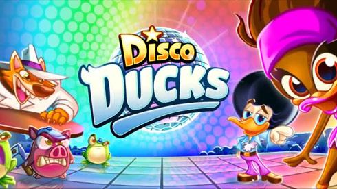 欧式三消游戏《迪斯科鸭子》