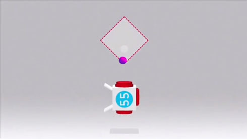考验智商 如何将球放入箱子《击球把戏》