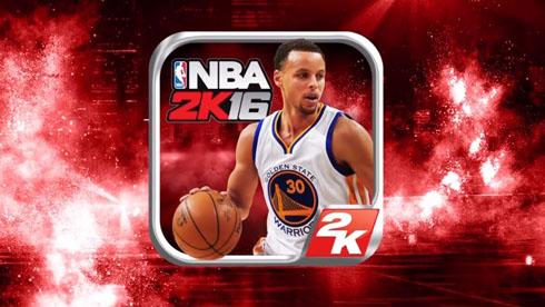 2K必玩的重磅手游《NBA 2K16》