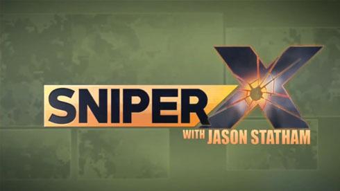 杰森斯坦森强势代言《狙击手X:绝命杀机》