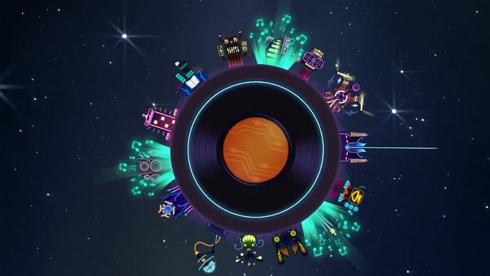 卡通风格音乐游戏《节奏星球》