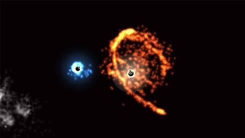 绚丽夺目的粒子碰撞《吞食星空》